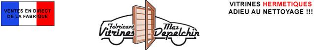 VITRINES MURALES pour collections, hermétiques à la poussière Logo_m10