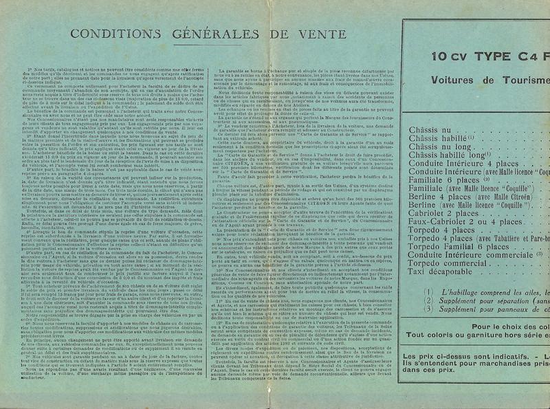 DOCUMENTS D'EPOQUE C4F Tarif_13