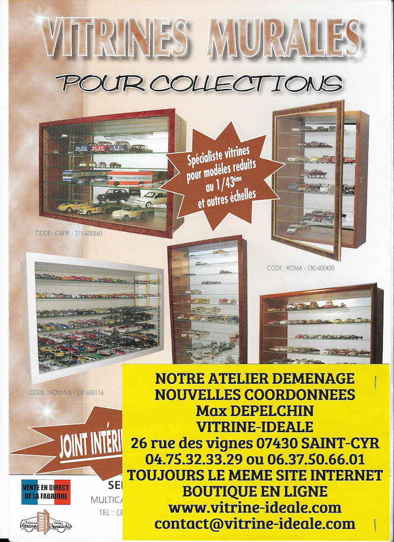 VITRINES MURALES pour collections, hermétiques à la poussière Vitrin10