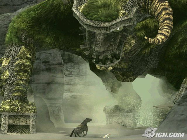 Shadow of the Colossus PS2 Shadow14