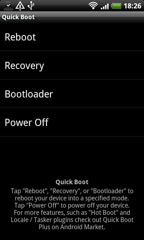 [SOFT/ROOT] QUICK BOOT : Accès rapide différents boot [Gratuit] Snap2010