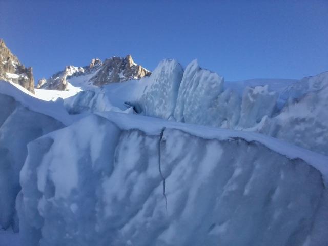 Grands Montets >>> glacier d'Argentière. Photo015