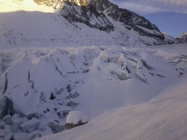Grands Montets >>> glacier d'Argentière. Photo016