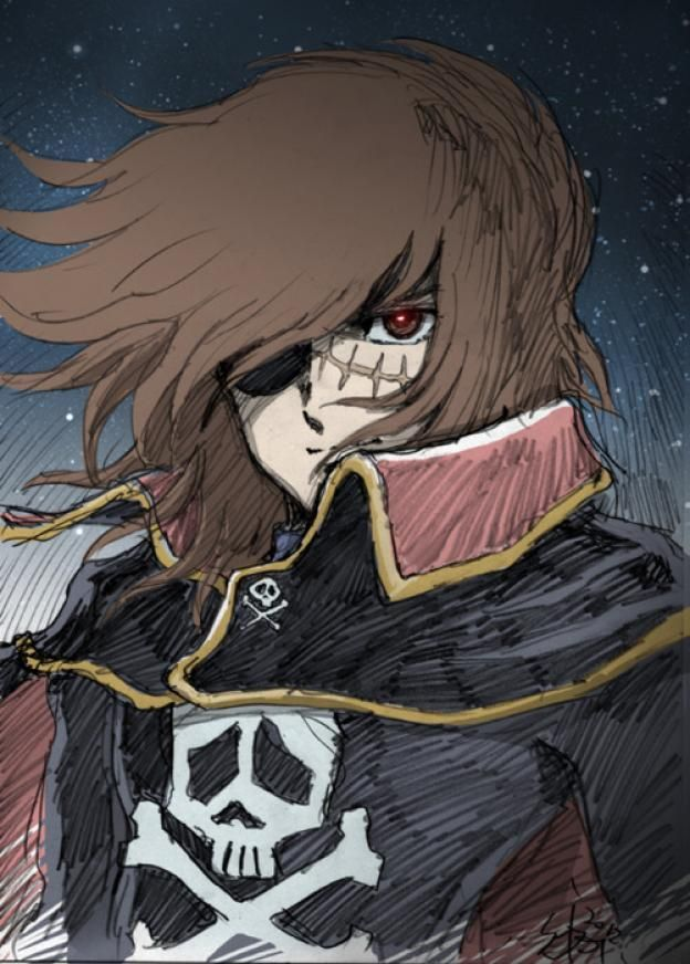 Albator / Captain Harlock : Fan-arts. - Page 38 23f35710