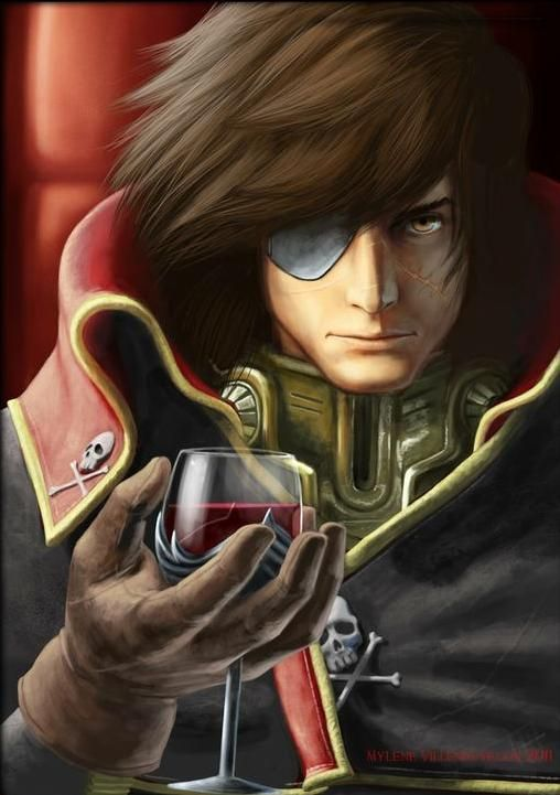 Albator / Captain Harlock : Fan-arts. - Page 38 7cb22f11
