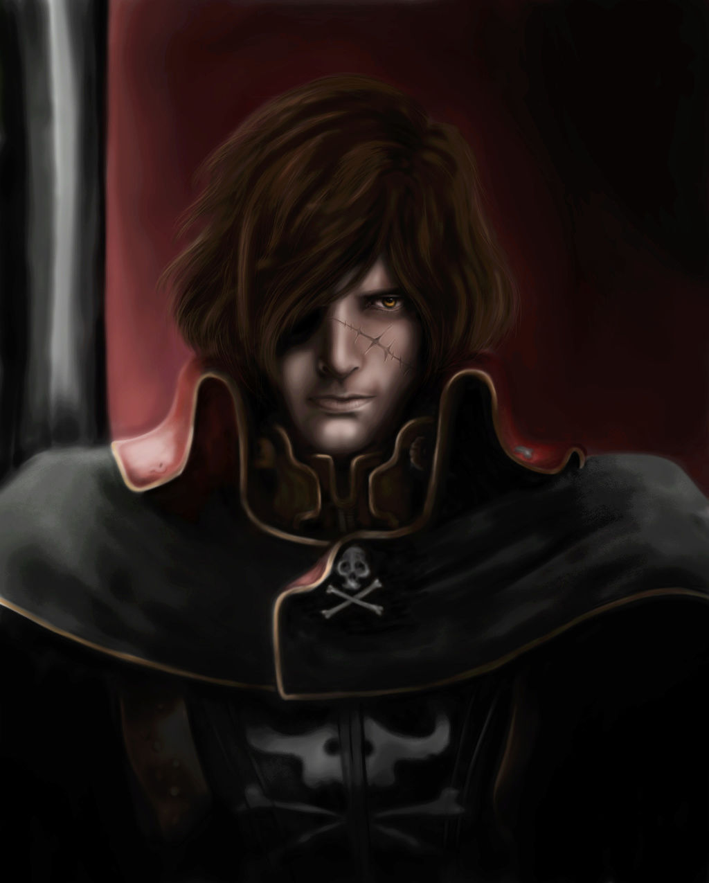 Albator / Captain Harlock : Fan-arts. - Page 38 Captai22