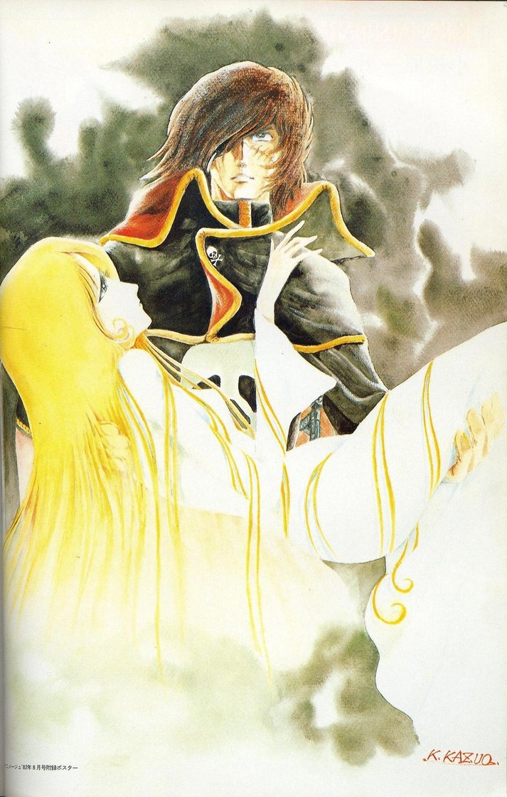 Albator / Captain Harlock : Fan-arts. - Page 38 Harloc19