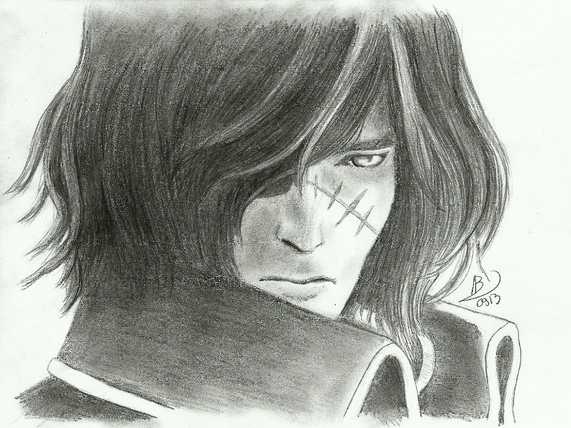 Albator / Captain Harlock : Fan-arts. - Page 38 The_ca11