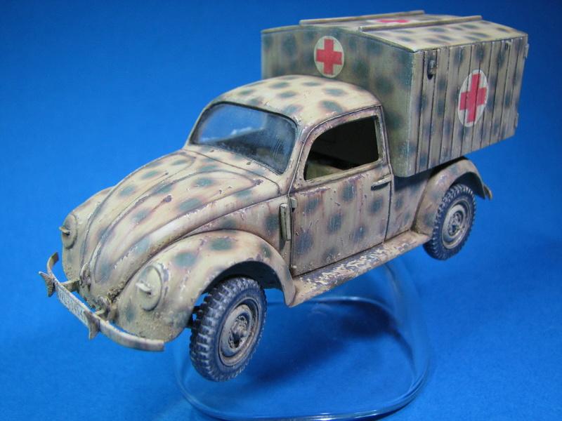 Coccinelle ambulance CMK  , figurines et photodécoupe  - 1/35 - Page 2 Img_5014