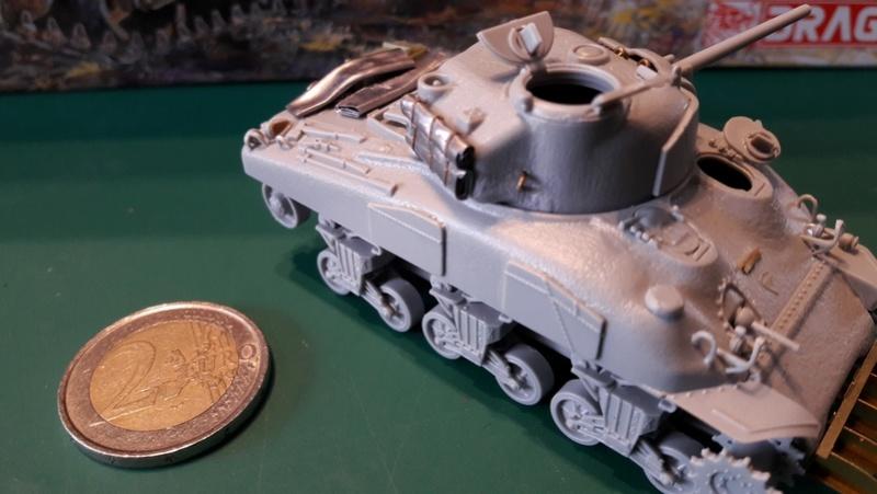 Sherman - Incursion au 72 - Sherman Dragon M4A1 20170217