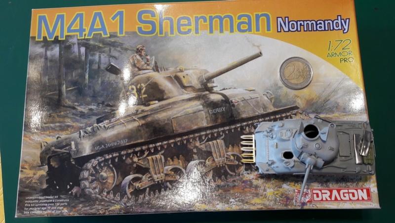 Sherman M4A1 Dragon 1/72 20170218