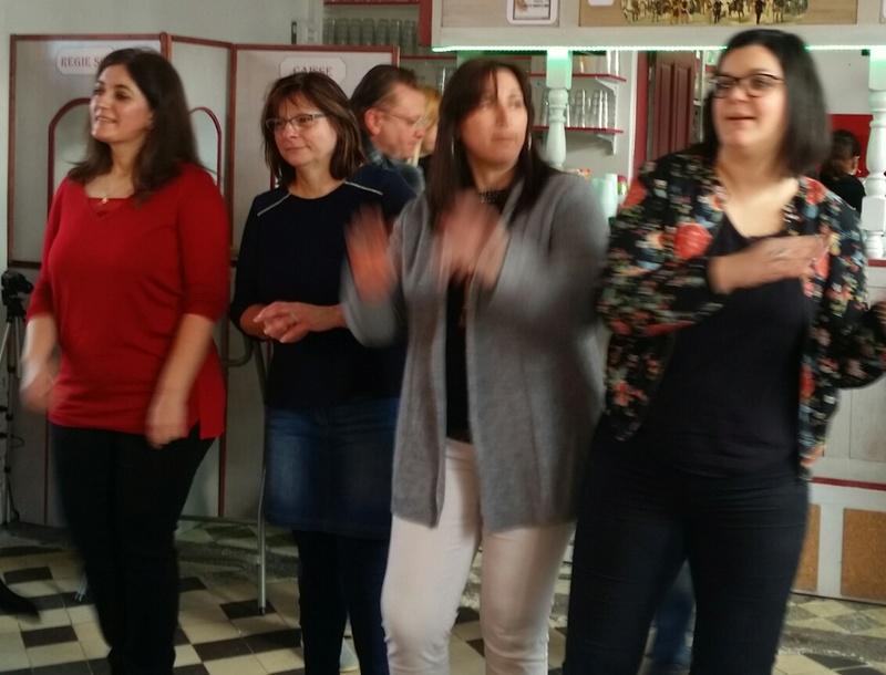 Rencontre de Rumbéros  Nord Sud Ouest en Picardie 20170112