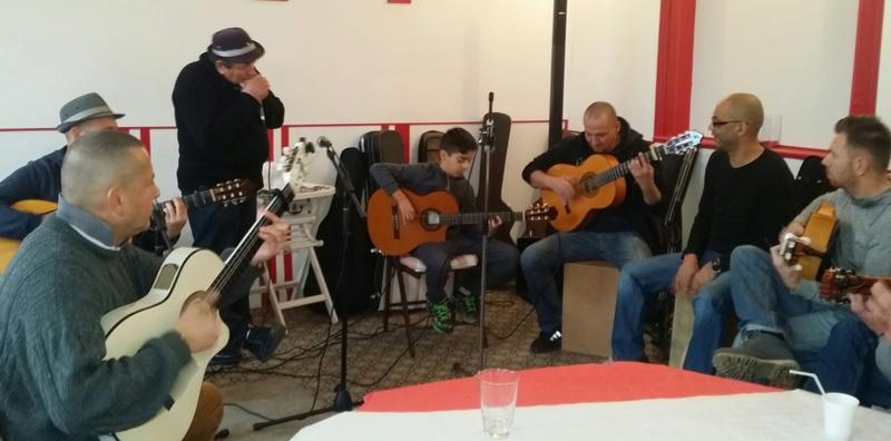 Rencontre de Rumbéros  Nord Sud Ouest en Picardie 20170117