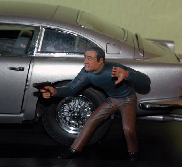 James Bond 007 in 1/8 von Polarlights Bo310