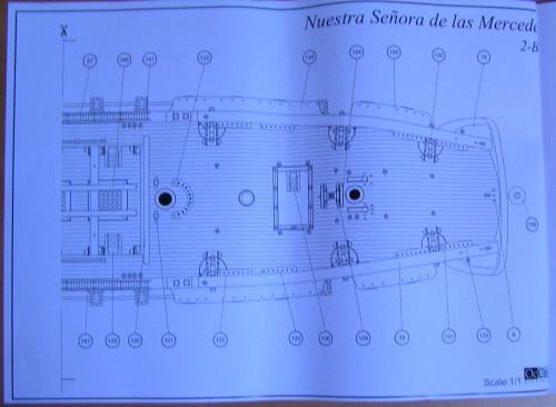 Kit Nuestra Senora de las Mercedes (OcCre 1/85°) 1710