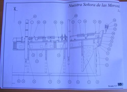Kit Nuestra Senora de las Mercedes (OcCre 1/85°) 1910