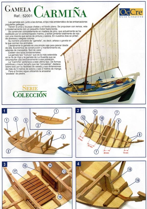 Bateau de pêche: Le Garmella au 1/15ème pour débutants Img07911