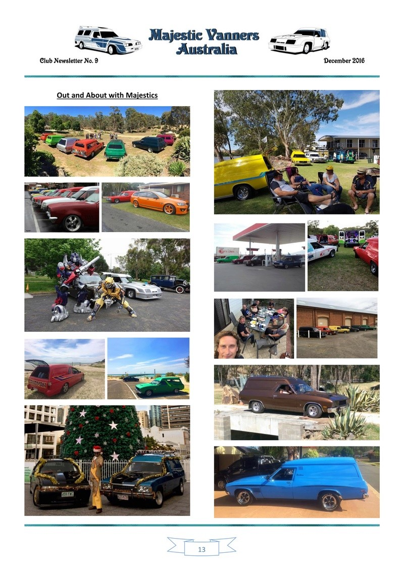 Majestic Vanners Newsletter Issue No. 9 December 2016 1310