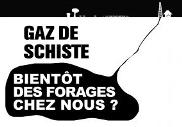 Gaz et huile de schiste France
