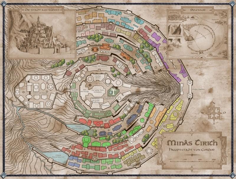 Minas Tirith, a Cidade Branca Minas_10