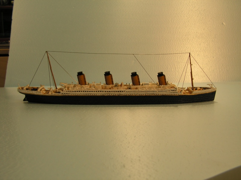 RMS Titanic  von Revell in 1:1200 Modell45