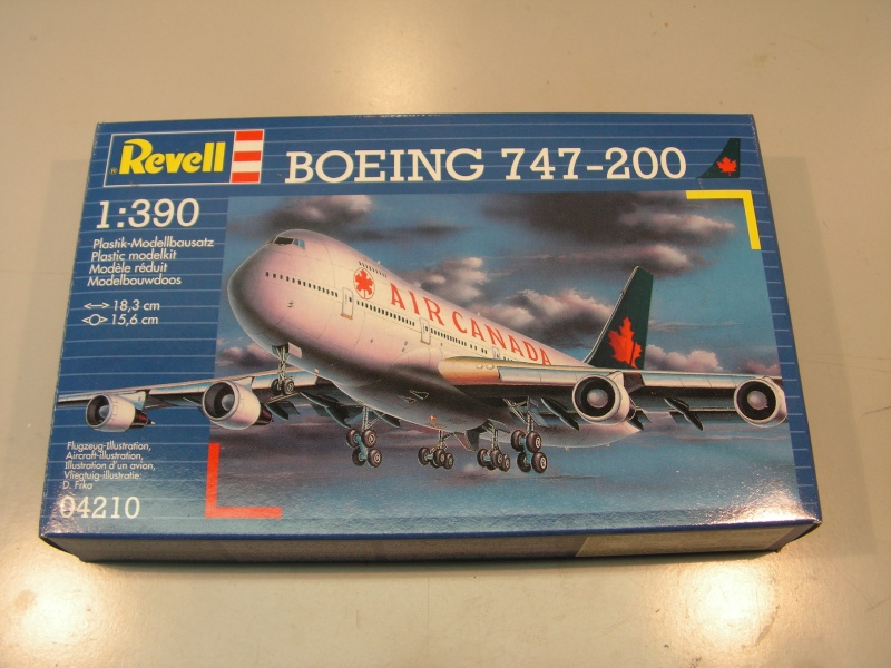 Boeing 747-200   Air Canada  Revell  1:390 Pict3535