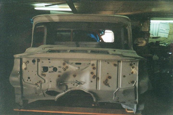 A few repair pics on my 57 Firewa10