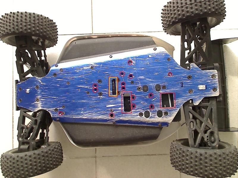 Boucher trous inutilises du chassis Fillga10
