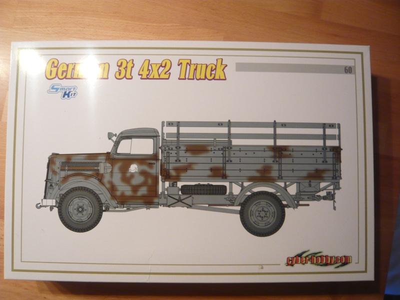 German 3t 4x2 Truck von Dragon 1/35 P1050118