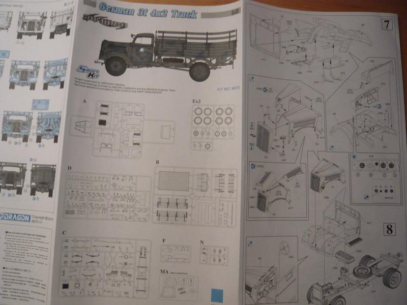 German 3t 4x2 Truck von Dragon 1/35 P1050119