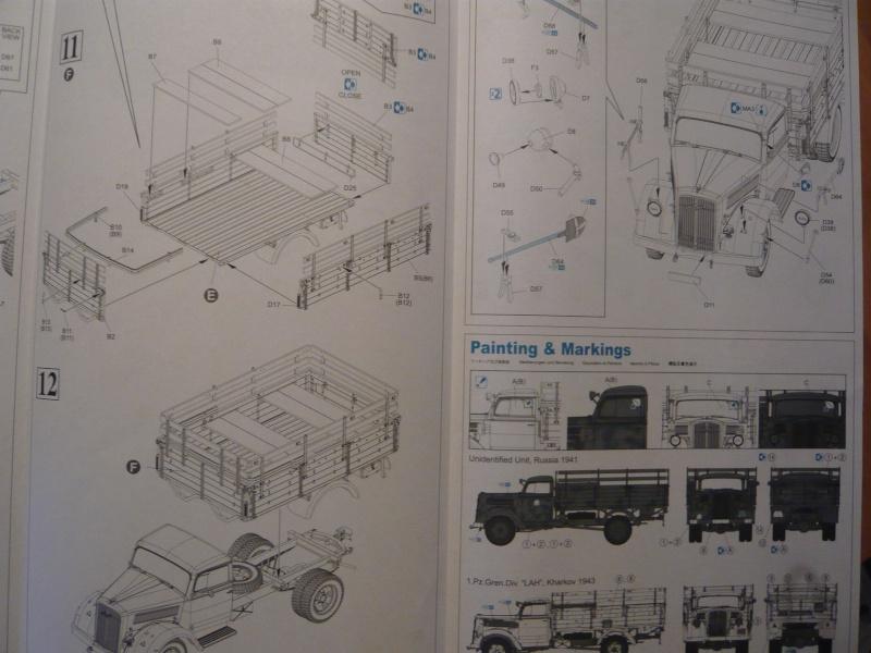German 3t 4x2 Truck von Dragon 1/35 P1050121