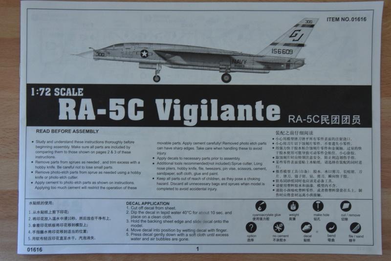 "Trumpeter - 1/72 - RA-5C ""Vigilante Dsc_0283"