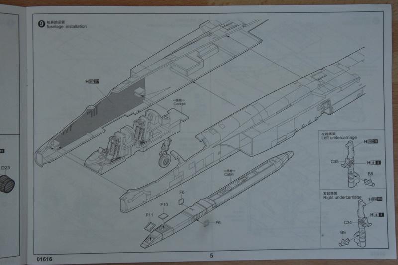 "Trumpeter - 1/72 - RA-5C ""Vigilante Dsc_0285"
