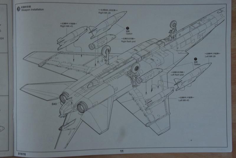 "Trumpeter - 1/72 - RA-5C ""Vigilante Dsc_0288"