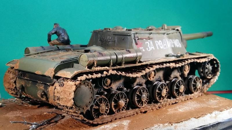 SU-152 (un coup de gros rouge) 20161120