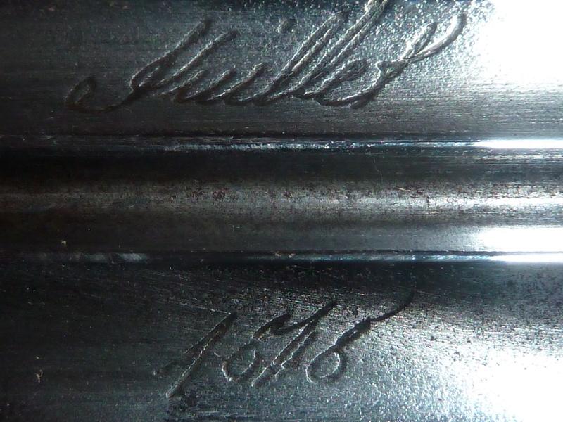 sabre 1855 d'officier supérieur d'infanterie - Page 3 P1170612