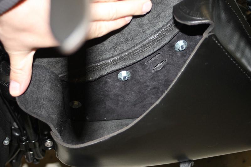 Support de sacoche de bras oscillant Fixati13