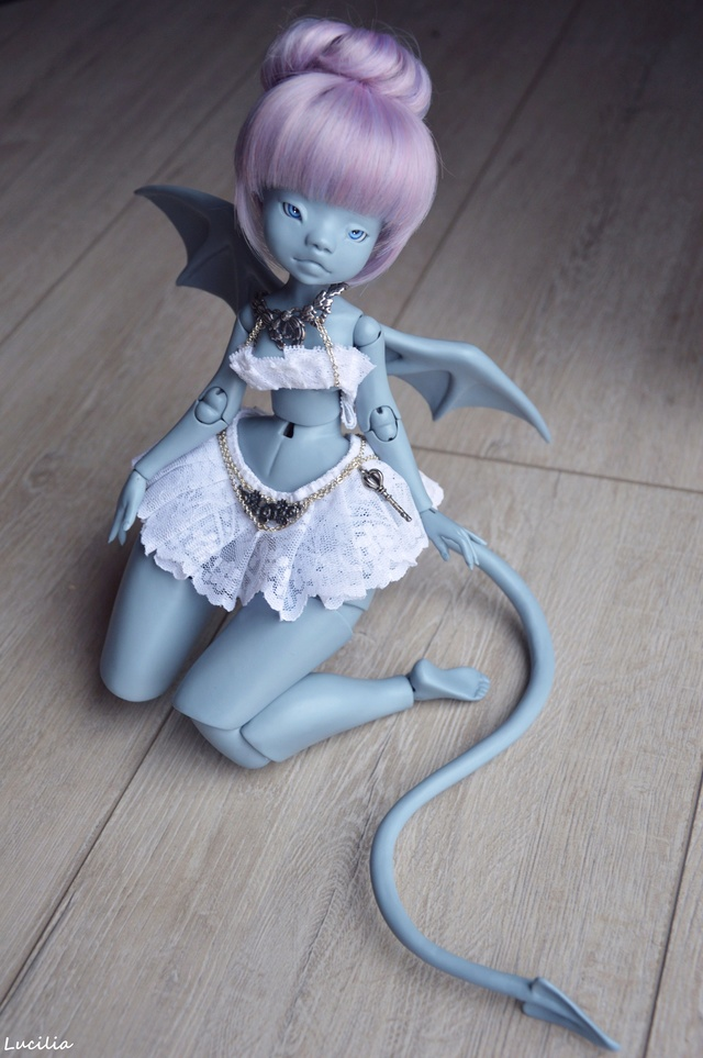 [susie-dolly woodolls] -  Ma Petite demone enfin custo ❤️  Photom11