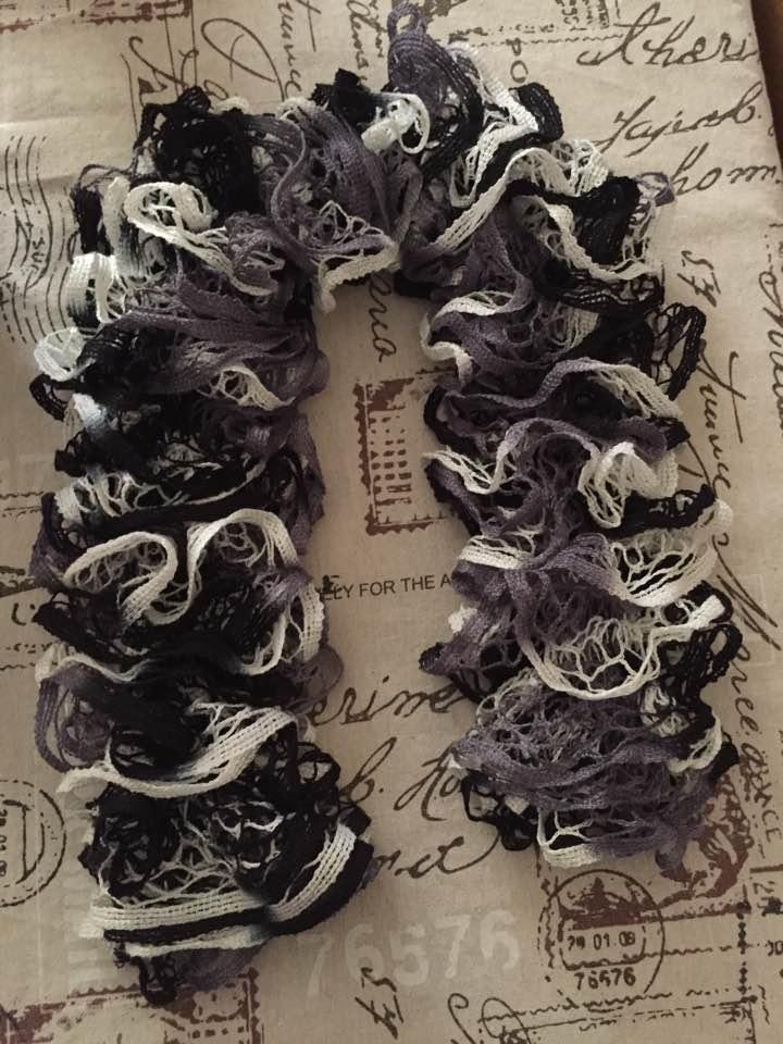 Vente de foulards  Gris_b10