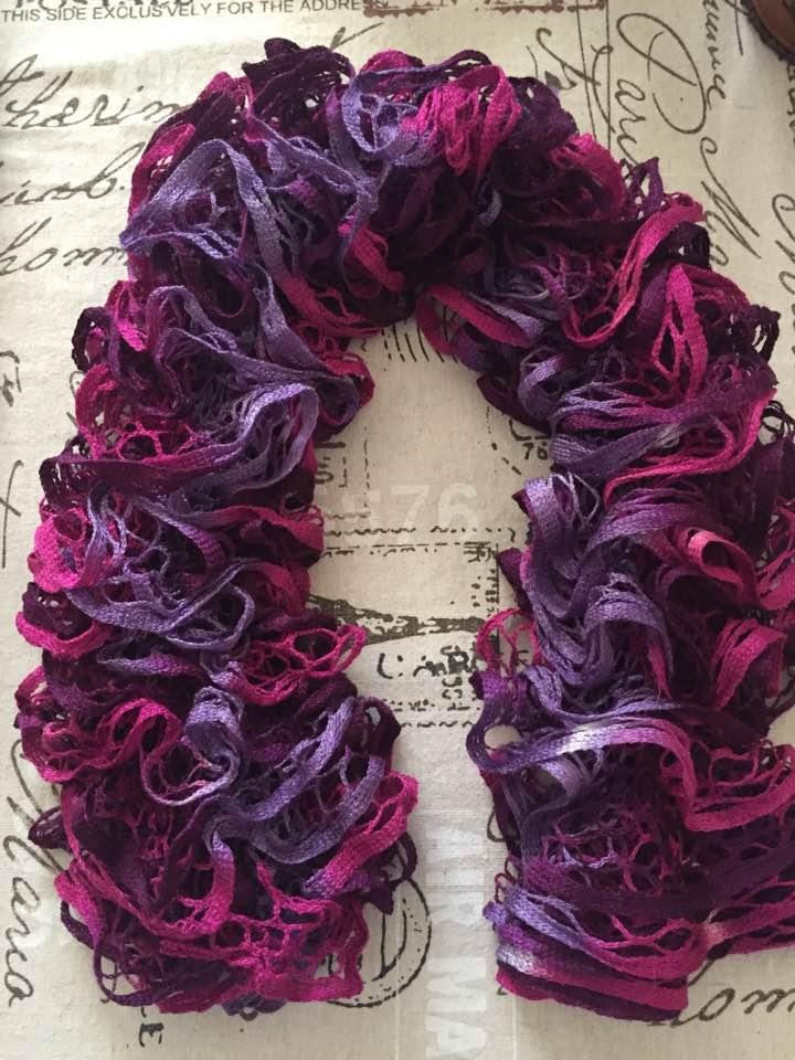Vente de foulards  Violet10