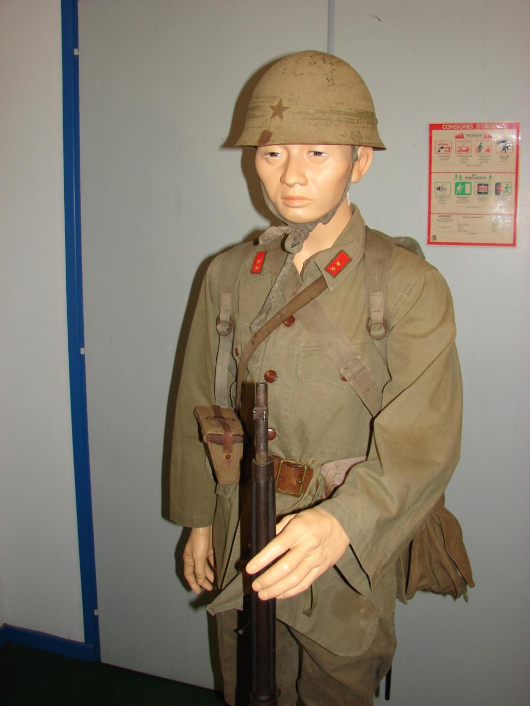 fantassin japonais bataille d'Okinawa 1945 Dsc05036