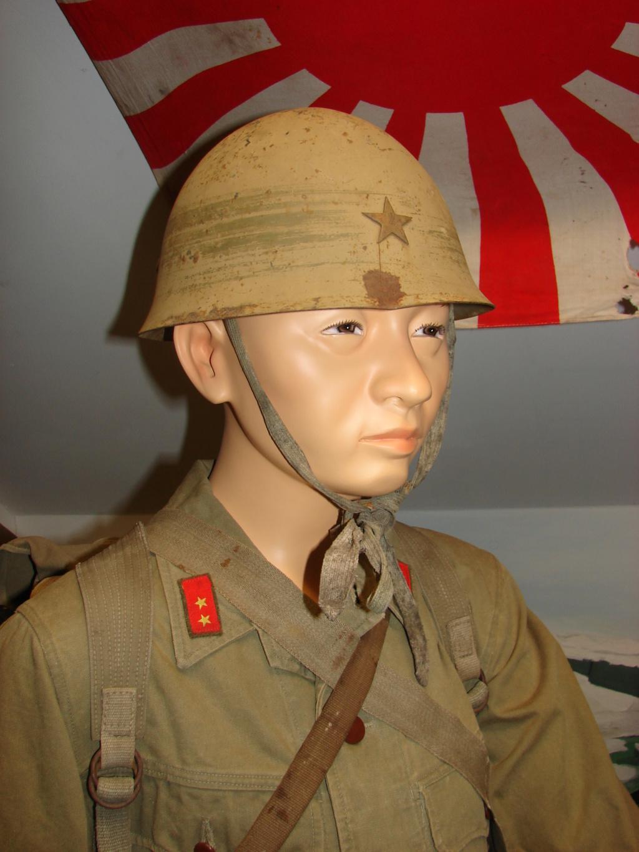 fantassin japonais bataille d'Okinawa 1945 Dsc05042