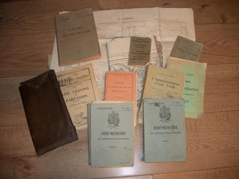 très gros lot documents appartenant à un Capitaine goumier. 100_4174