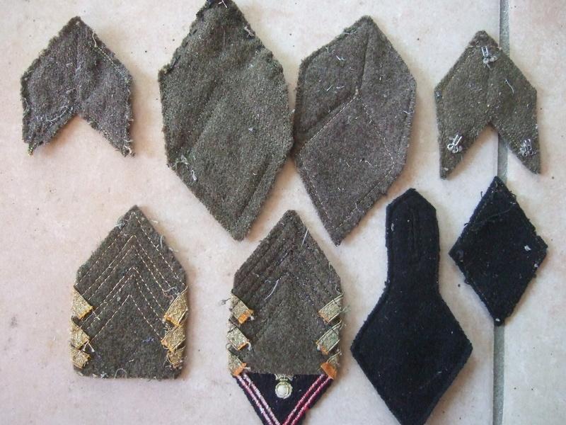 Insignes tissu losange 45 sous-off et cadre et autres ...... -20°/. pour Dimanche     2/3 vendus Dscf5582