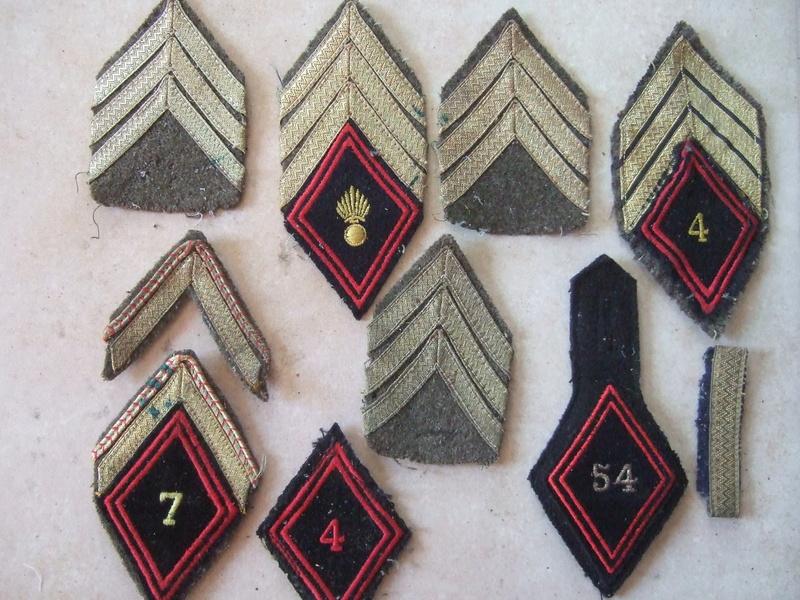 Insignes tissu losange 45 sous-off et cadre et autres ...... -20°/. pour Dimanche     2/3 vendus Dscf5583