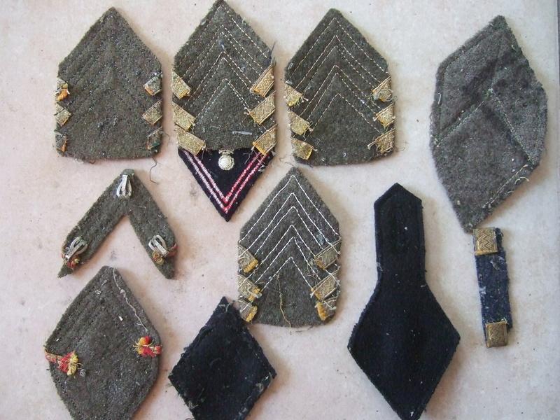 Insignes tissu losange 45 sous-off et cadre et autres ...... -20°/. pour Dimanche     2/3 vendus Dscf5584
