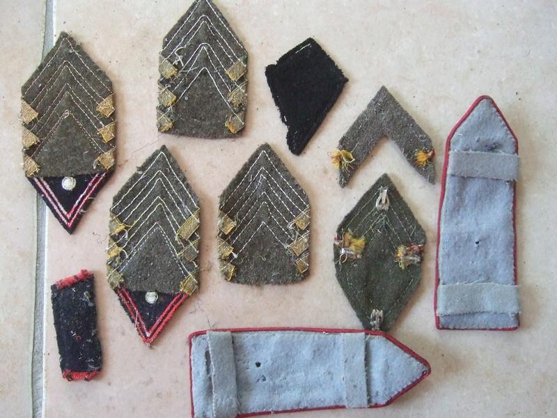 Insignes tissu losange 45 sous-off et cadre et autres ...... -20°/. pour Dimanche     2/3 vendus Dscf5587