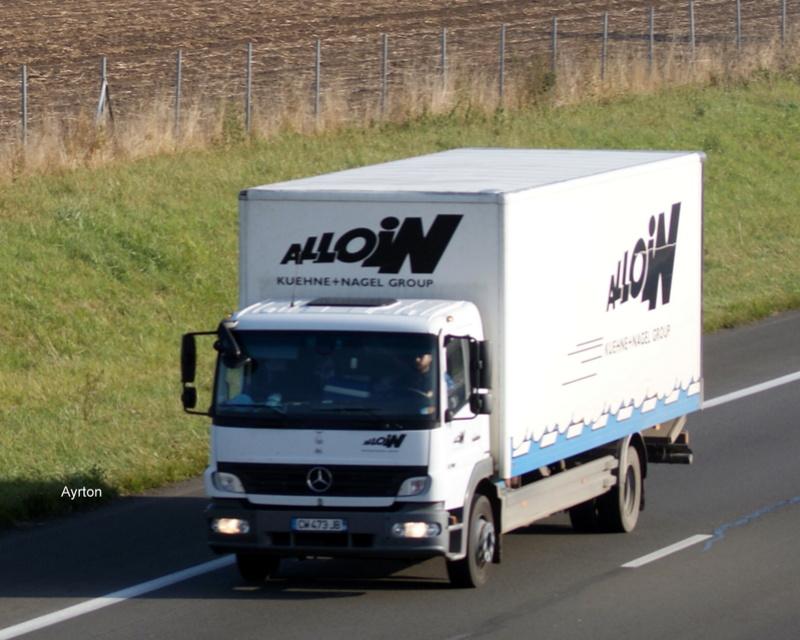 Transports Alloin  (Groupe Kuehne & Nagel) (69) - Page 6 Dsc01396