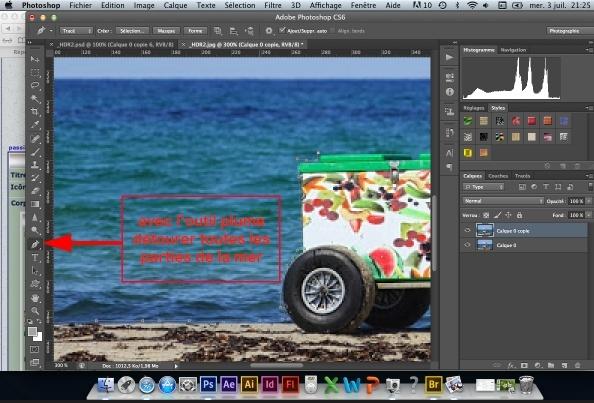 Tuto-Gif animé - Mouvement d'eau avec photoshop CS6 Captur13
