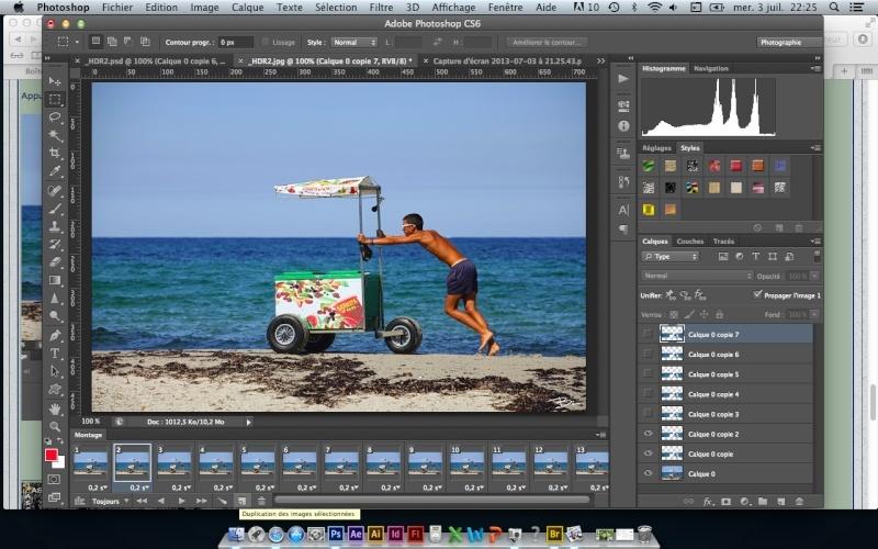 Tuto-Gif animé - Mouvement d'eau avec photoshop CS6 Captur19